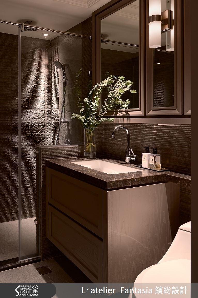 34坪老屋(16~30年)_新古典浴室案例圖片_L′atelier Fantasia 繽紛設計_繽紛_29之11