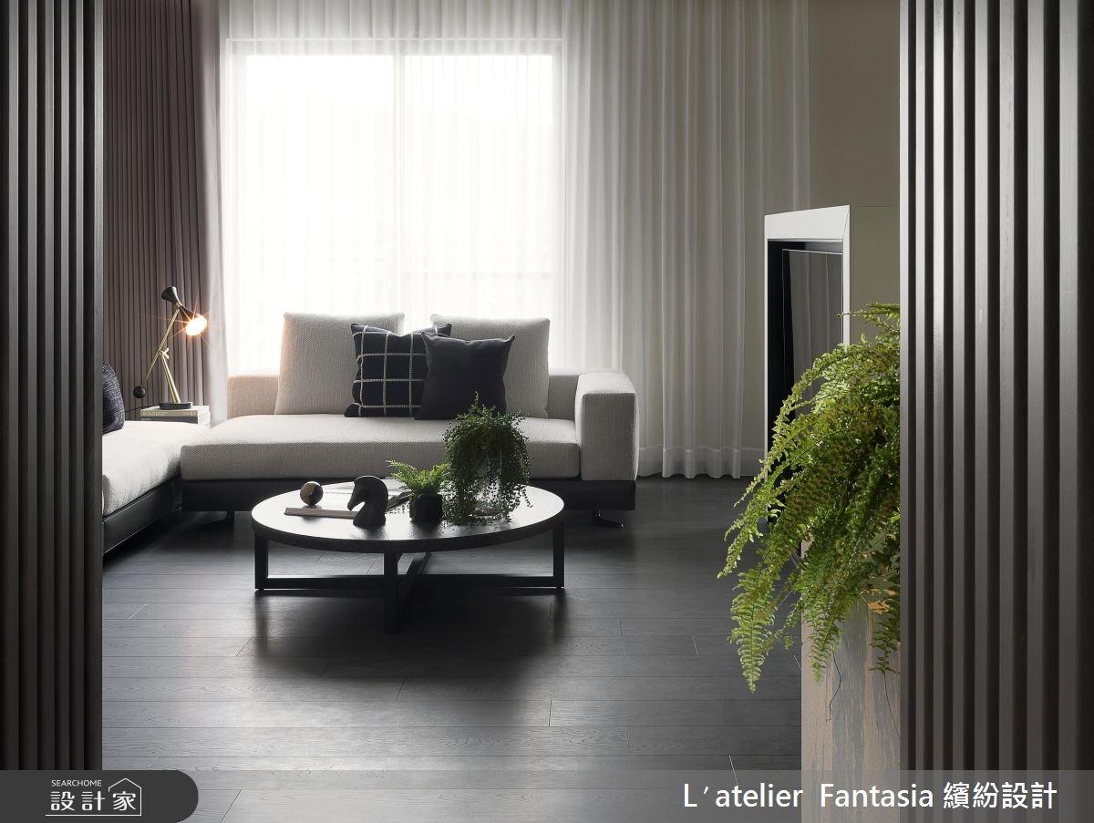 37坪中古屋(5~15年)_現代風客廳案例圖片_L′atelier Fantasia 繽紛設計_繽紛_43之4
