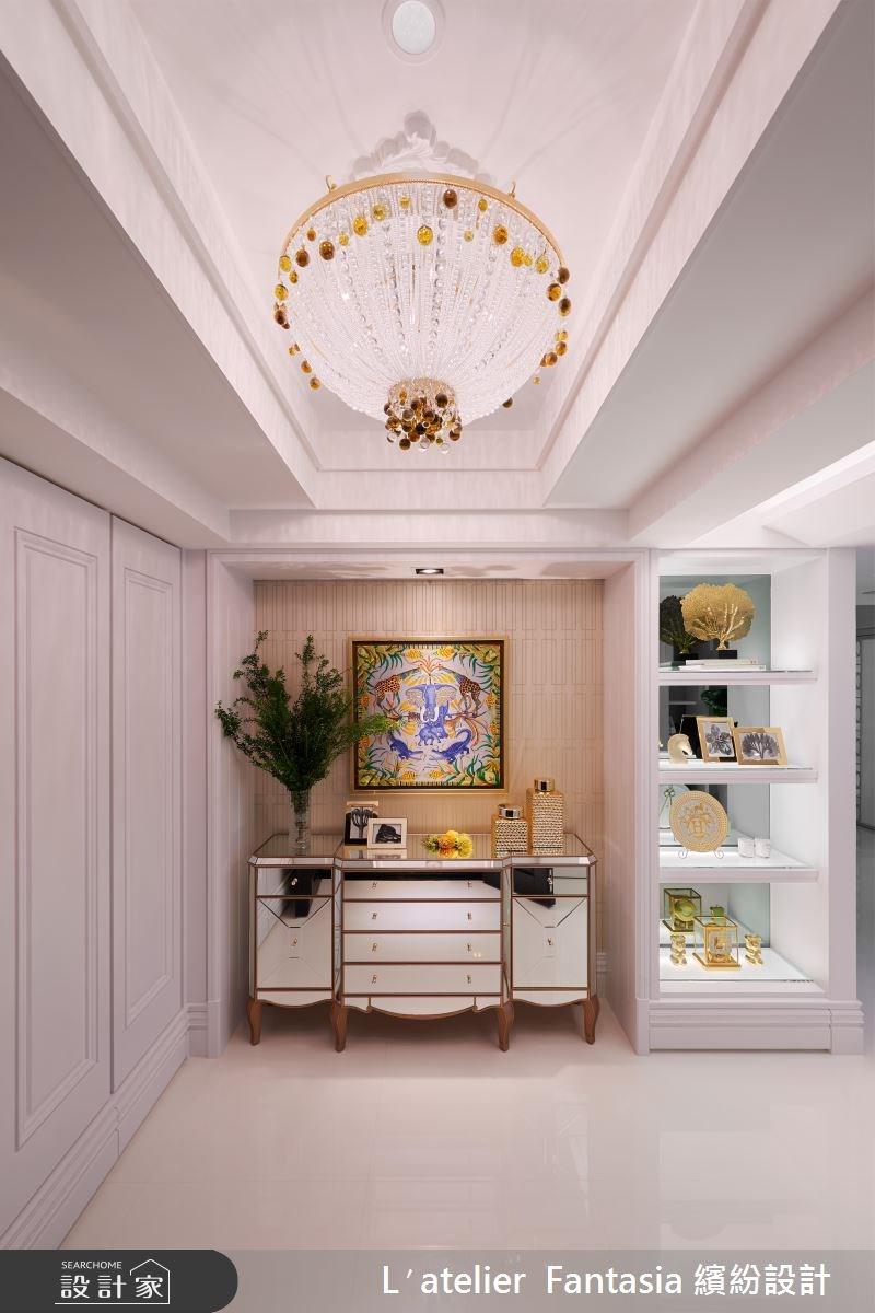 60坪新成屋(5年以下)_新古典玄關案例圖片_L′atelier Fantasia 繽紛設計_繽紛_45之1
