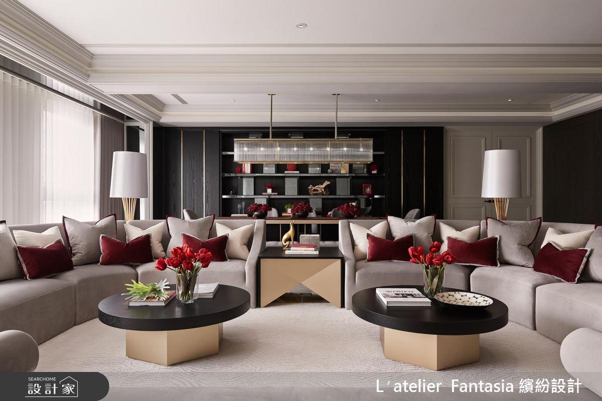 當時髦紅搭上優雅白 ! 新古典大宅化身曼哈頓頂級酒店