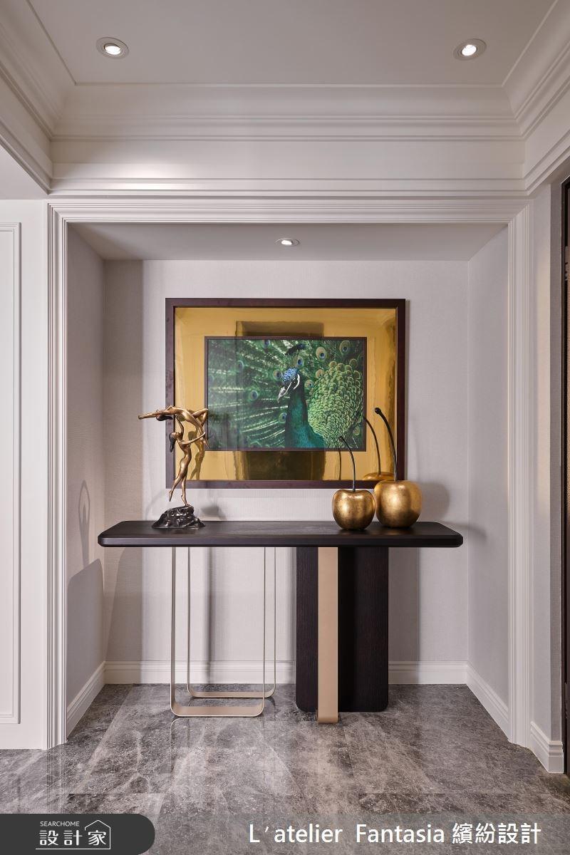 新成屋(5年以下)_新古典玄關案例圖片_L′atelier Fantasia 繽紛設計_繽紛_57之1