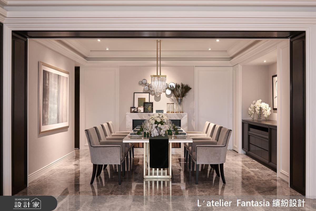 新成屋(5年以下)_新古典餐廳案例圖片_L′atelier Fantasia 繽紛設計_繽紛_57之4