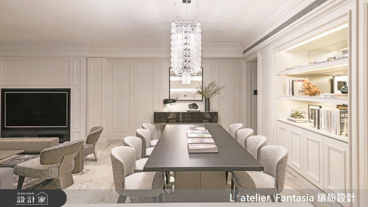 新成屋(5年以下)_新古典餐廳案例圖片_L′atelier Fantasia 繽紛設計_繽紛_58之2