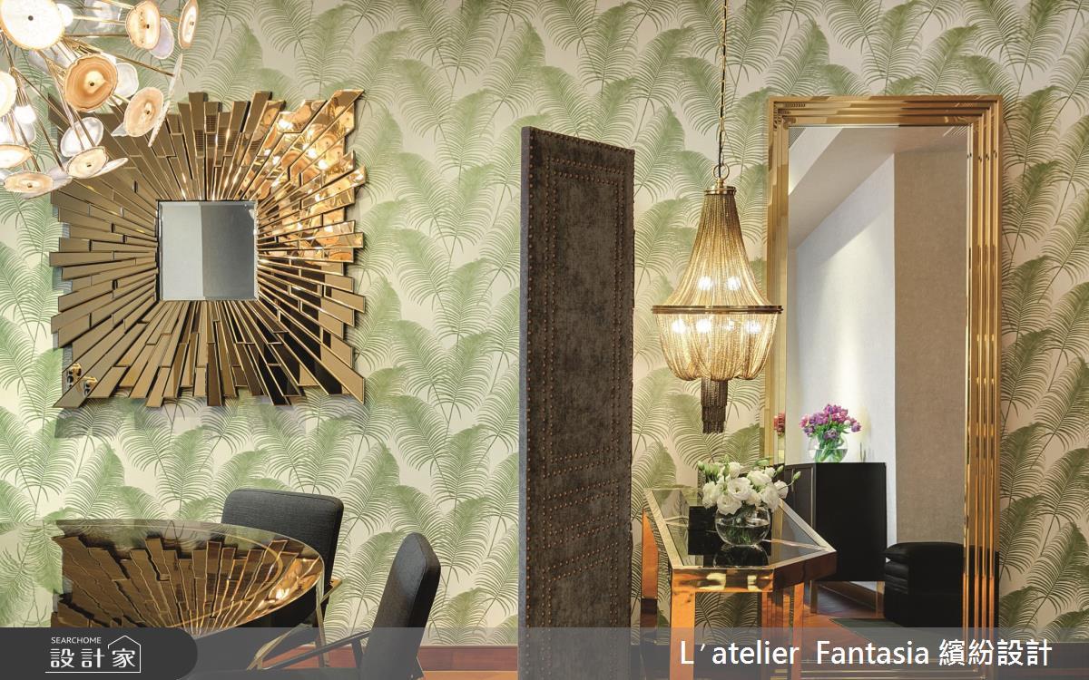 38坪新成屋(5年以下)_奢華風餐廳案例圖片_L′atelier Fantasia 繽紛設計_繽紛_60之3
