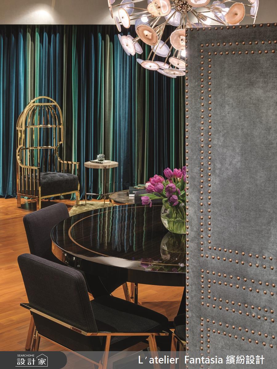 38坪新成屋(5年以下)_奢華風餐廳案例圖片_L′atelier Fantasia 繽紛設計_繽紛_60之4
