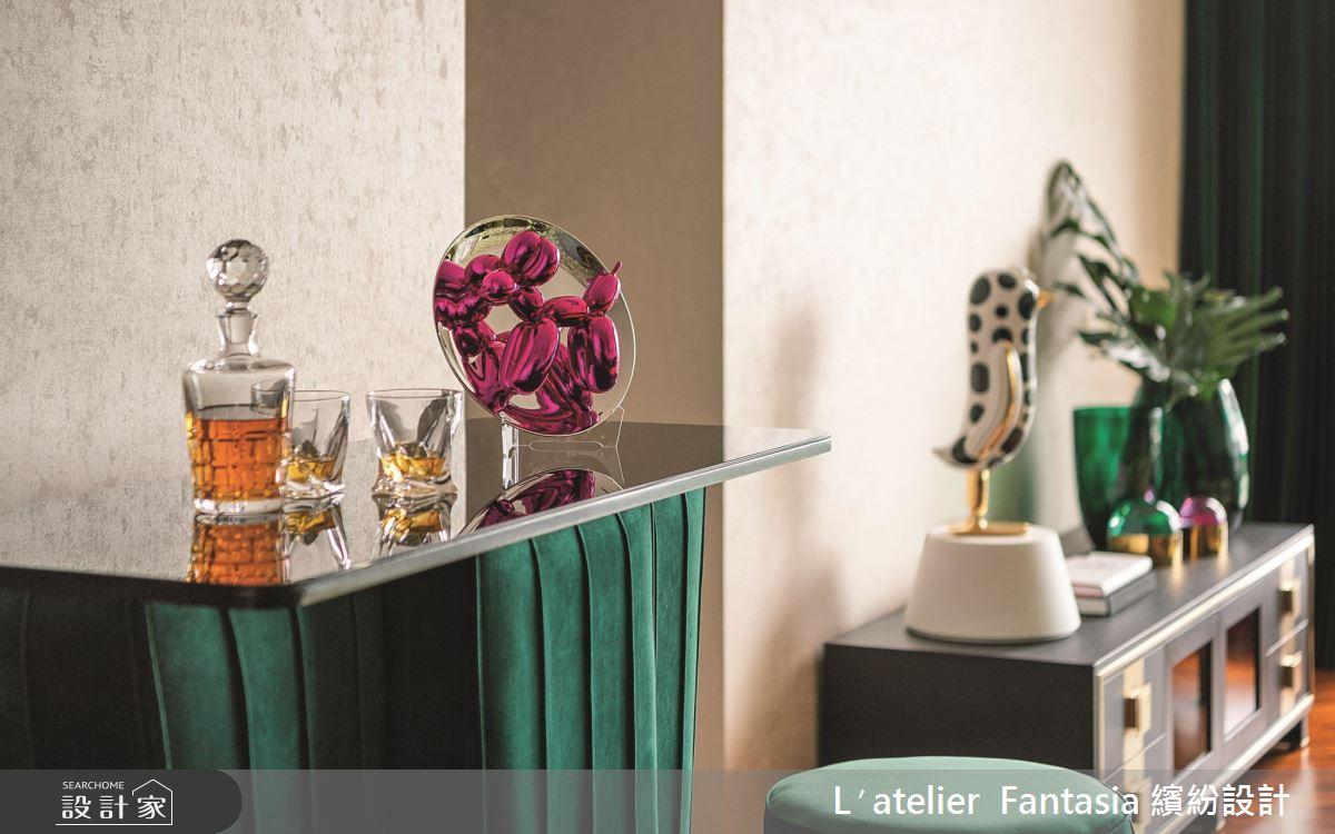 38坪新成屋(5年以下)_奢華風客廳案例圖片_L′atelier Fantasia 繽紛設計_繽紛_60之7