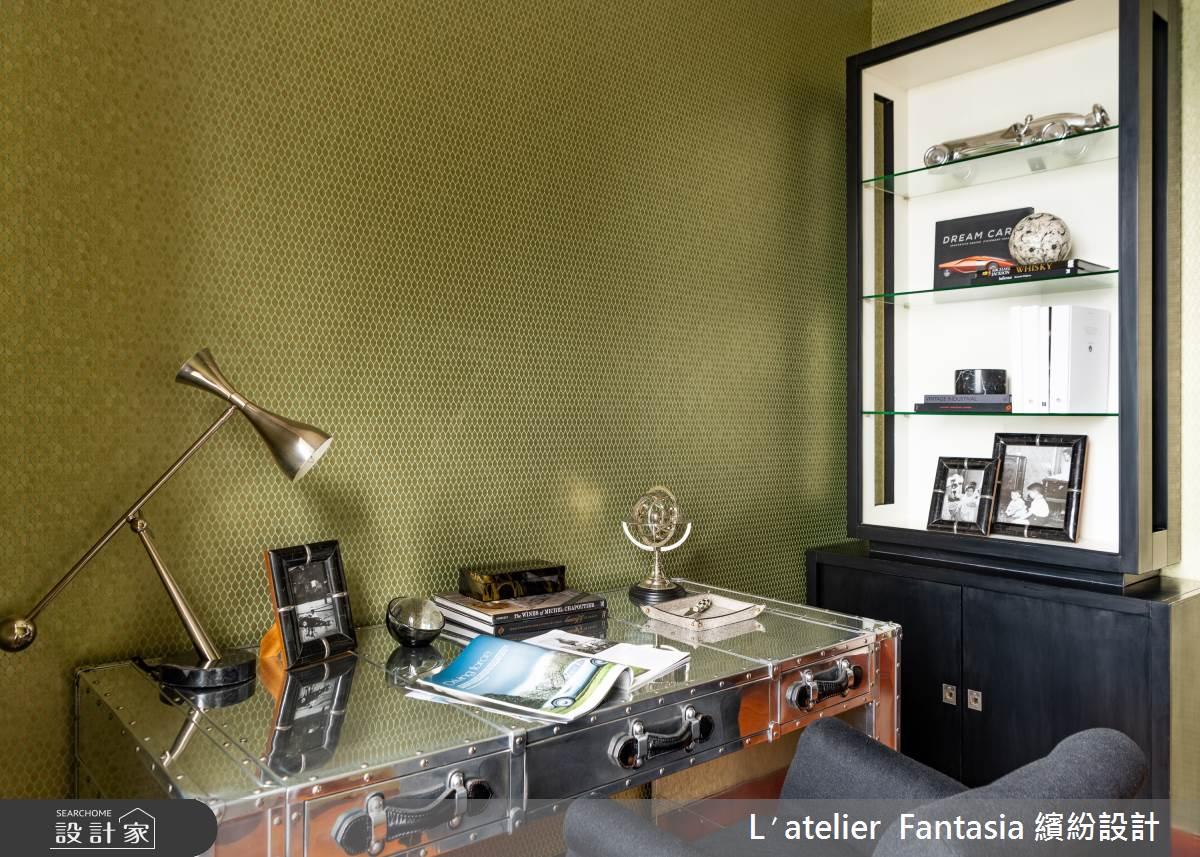38坪新成屋(5年以下)_奢華風工作區案例圖片_L′atelier Fantasia 繽紛設計_繽紛_60之8