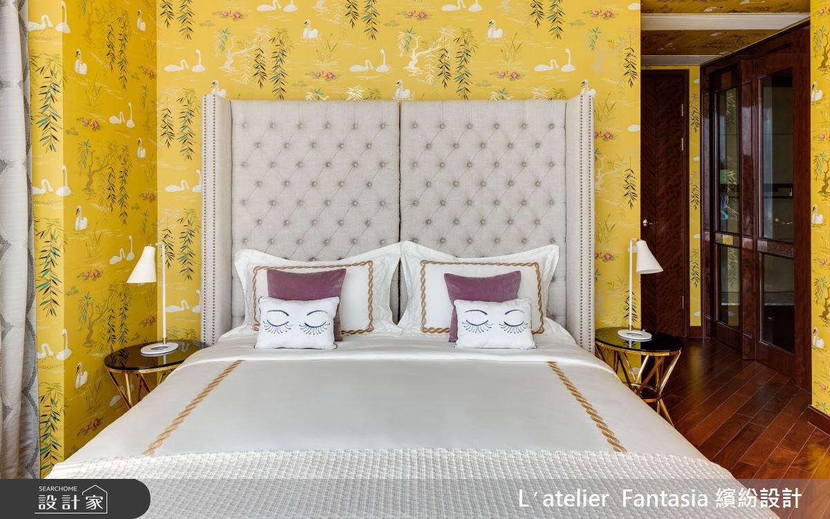 38坪新成屋(5年以下)_奢華風臥室案例圖片_L′atelier Fantasia 繽紛設計_繽紛_60之9