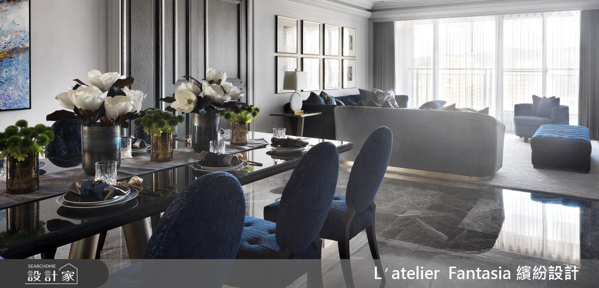 新成屋(5年以下)_新古典餐廳案例圖片_L′atelier Fantasia 繽紛設計_繽紛_63之5