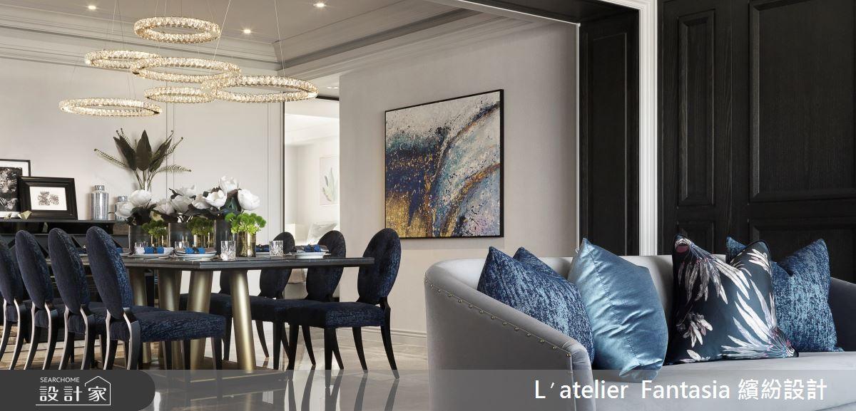 新成屋(5年以下)_新古典餐廳案例圖片_L′atelier Fantasia 繽紛設計_繽紛_63之4