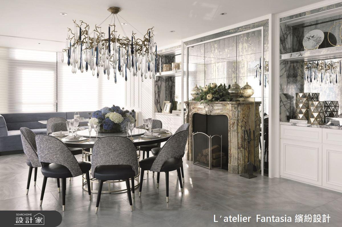 129坪新成屋(5年以下)_奢華風餐廳案例圖片_L′atelier Fantasia 繽紛設計_繽紛_67之75