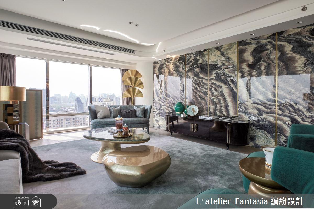 55坪新成屋(5年以下)_現代風客廳案例圖片_L′atelier Fantasia 繽紛設計_繽紛_68之4