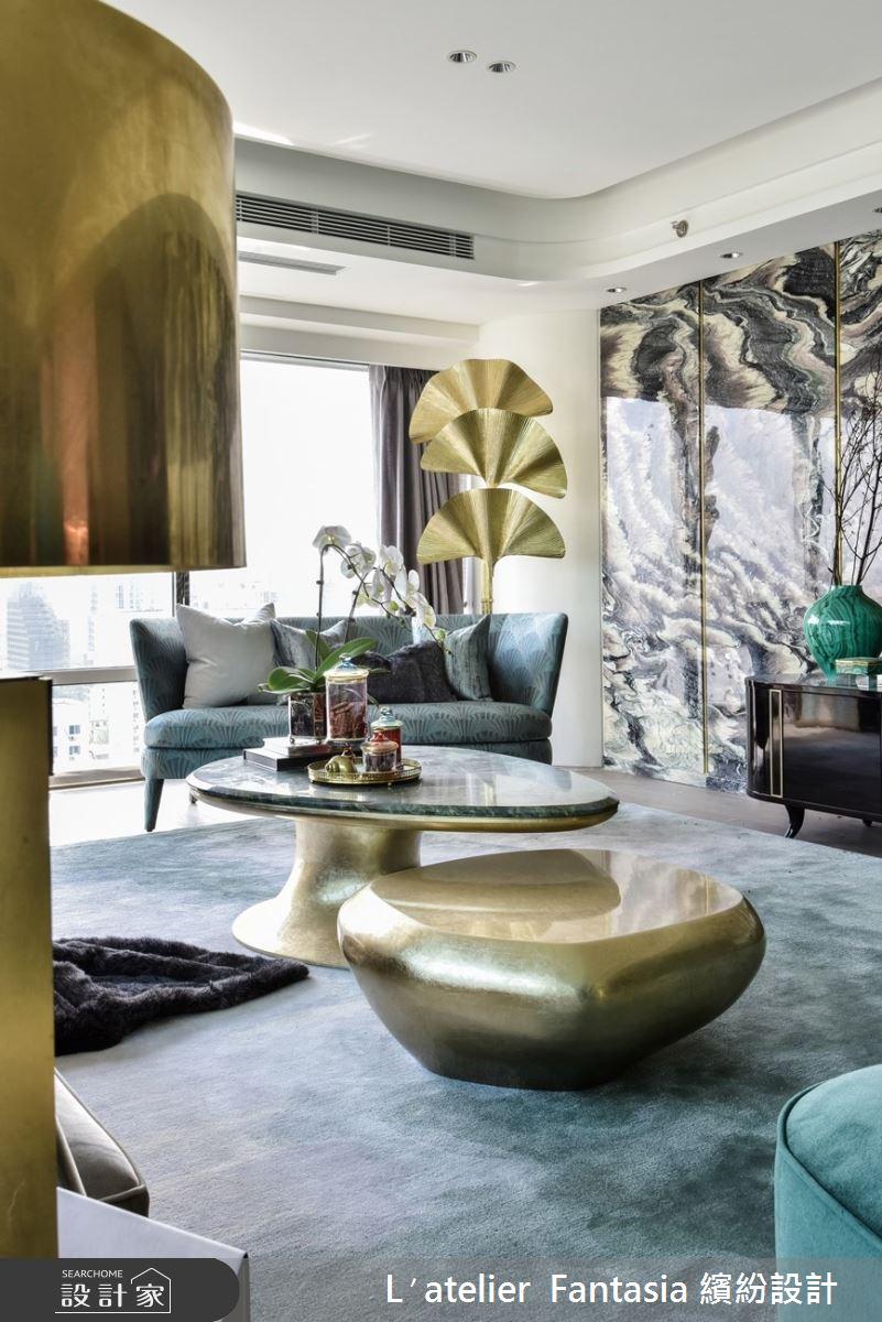 55坪新成屋(5年以下)_現代風客廳案例圖片_L′atelier Fantasia 繽紛設計_繽紛_68之5