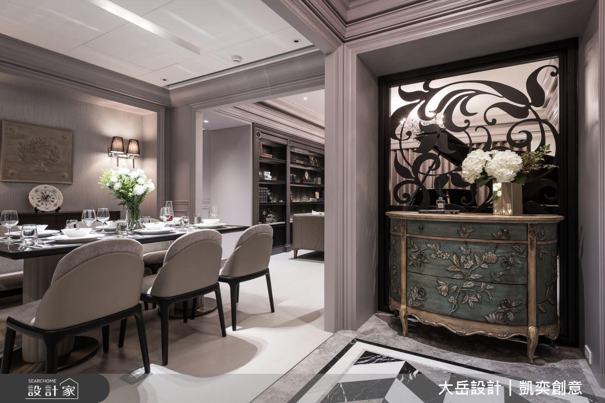 45坪新成屋(5年以下)_新古典餐廳案例圖片_大岳設計︱凱奕創意_大岳_元大君品之2