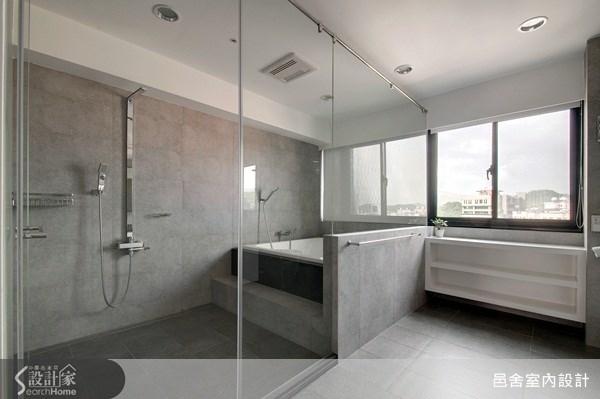 70坪老屋(16~30年)_現代風浴室案例圖片_邑舍室內設計_邑舍_14之19