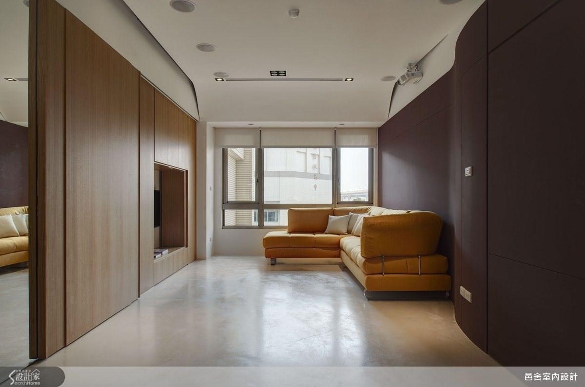 30坪新成屋(5年以下)_現代風客廳案例圖片_邑舍室內設計_邑舍_07之3