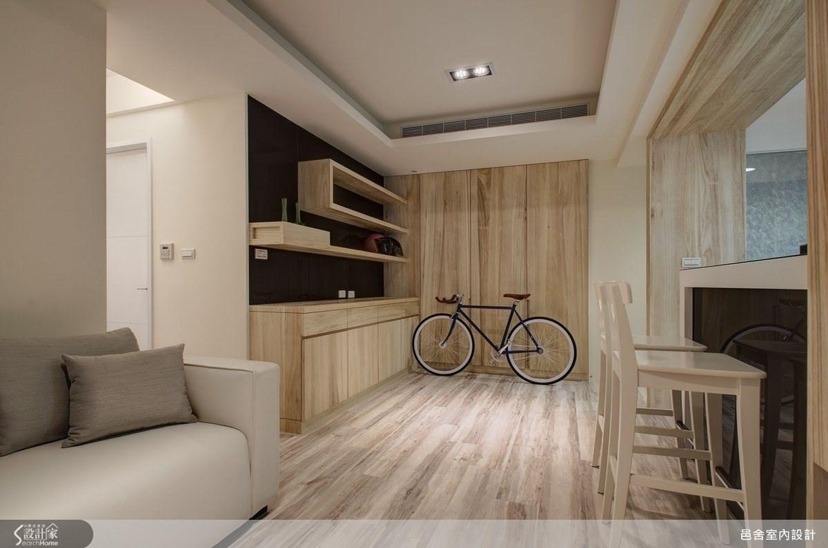 21坪新成屋(5年以下)_北歐風客廳案例圖片_邑舍室內設計_邑舍_08之2