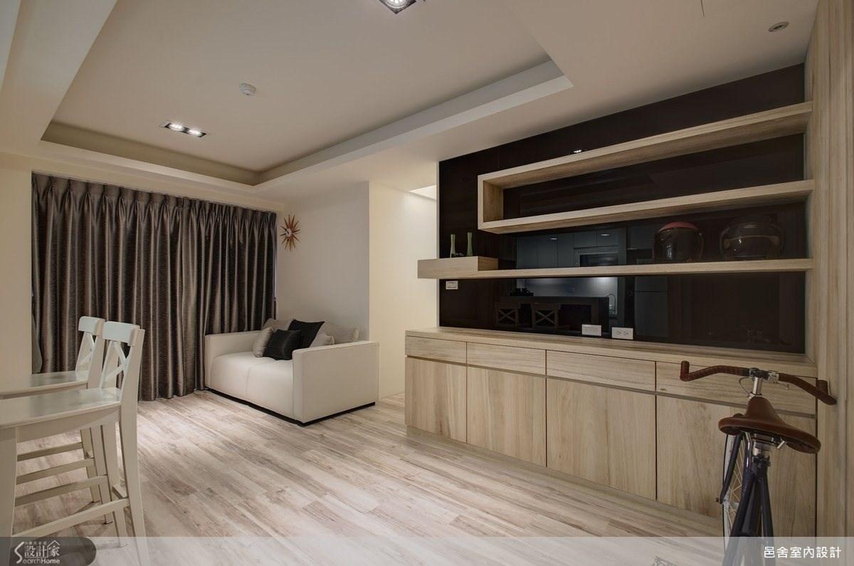 21坪新成屋(5年以下)_北歐風客廳案例圖片_邑舍室內設計_邑舍_08之3