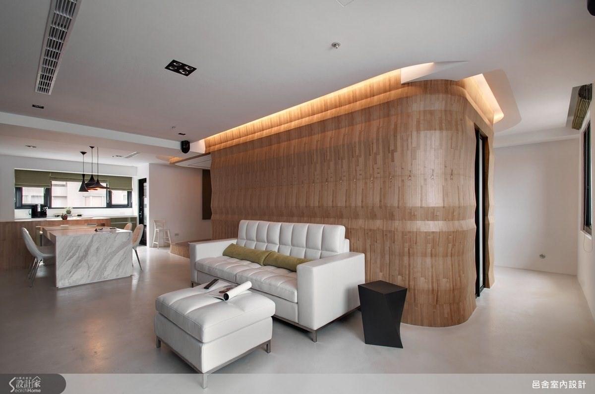 40坪中古屋(5~15年)_現代風客廳案例圖片_邑舍室內設計_邑舍_13之3