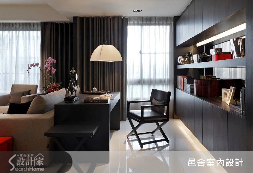 32坪新成屋(5年以下)_現代風書房案例圖片_邑舍室內設計_邑舍_10之3