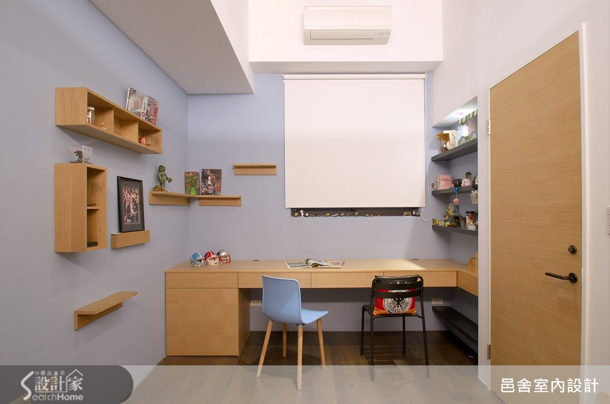 25坪新成屋(5年以下)_工業風書房案例圖片_邑舍室內設計_邑舍_15之8