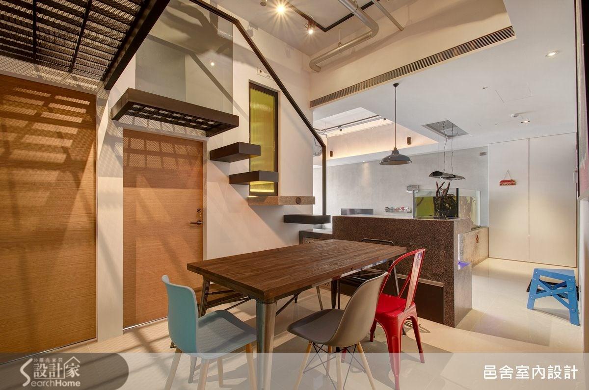 25坪新成屋(5年以下)_工業風餐廳案例圖片_邑舍室內設計_邑舍_15之6