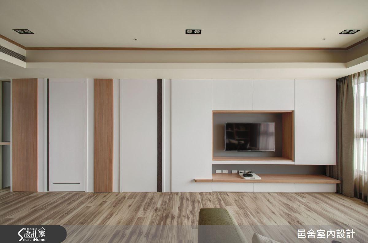 35坪新成屋(5年以下)_北歐風客廳案例圖片_邑舍室內設計_邑舍_18之2