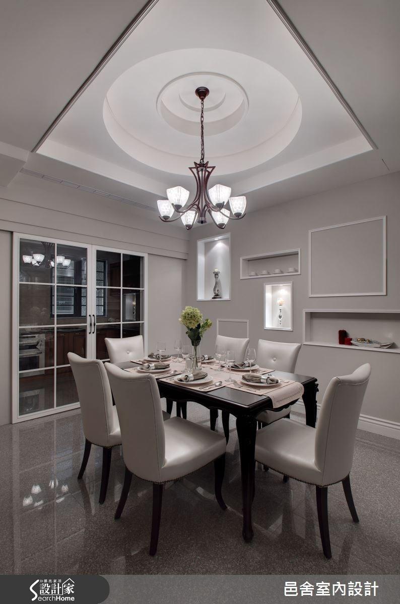 65坪新成屋(5年以下)_新古典餐廳案例圖片_邑舍室內設計_邑舍_20之3