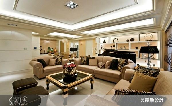 50坪新成屋(5年以下)_新古典案例圖片_美麗殿設計_美麗殿_11之4
