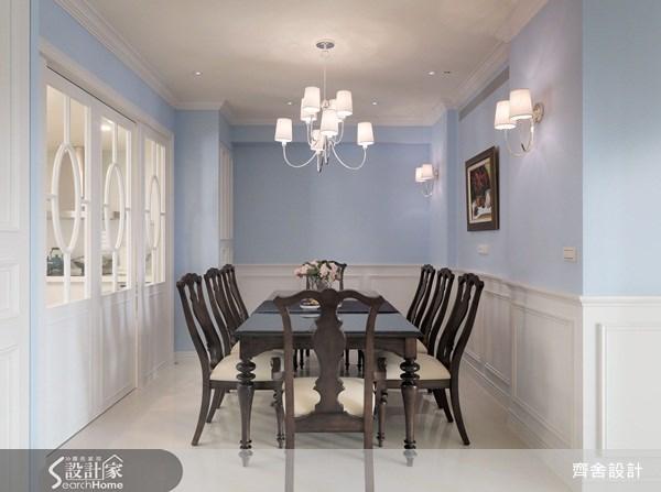 55坪新成屋(5年以下)_新古典餐廳案例圖片_齊舍設計事務所_齊舍_08之9
