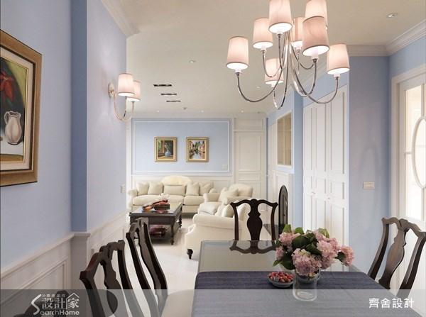 55坪新成屋(5年以下)_新古典餐廳案例圖片_齊舍設計事務所_齊舍_08之11