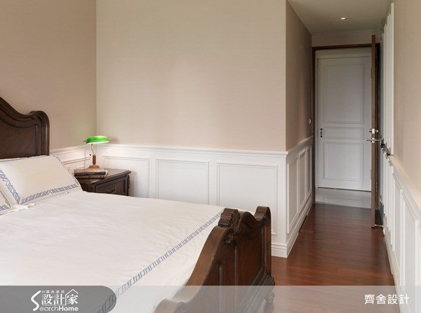 55坪新成屋(5年以下)_新古典臥室案例圖片_齊舍設計事務所_齊舍_08之15