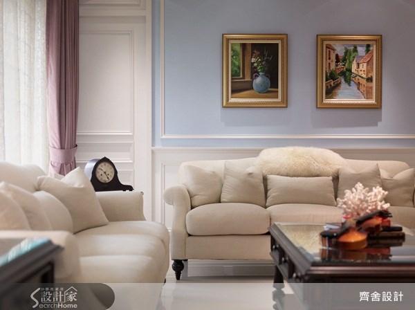 55坪新成屋(5年以下)_新古典客廳案例圖片_齊舍設計事務所_齊舍_08之6