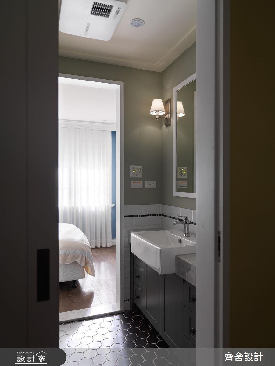 24坪中古屋(5~15年)_美式風浴室案例圖片_齊舍設計事務所_齊舍_34之26