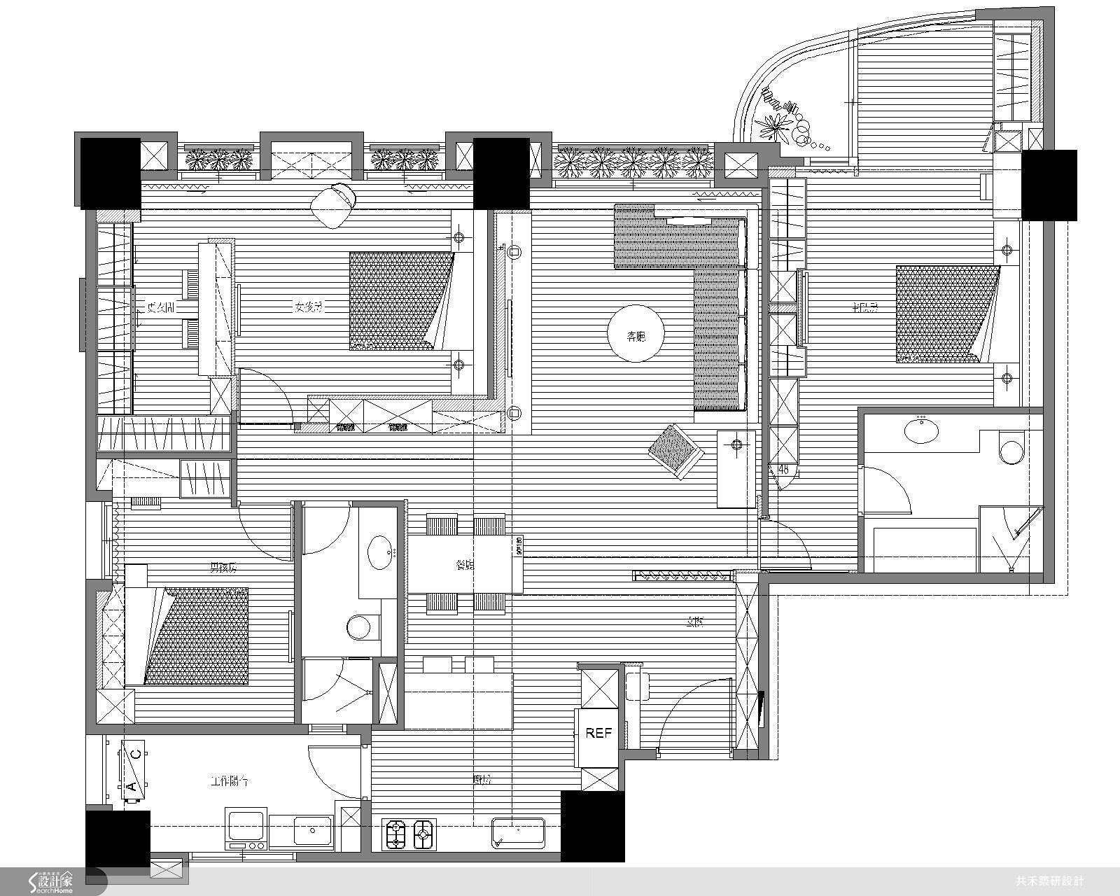 46坪新成屋(5年以下)_現代風案例圖片_共禾築研設計有限公司_共禾築研_08之19
