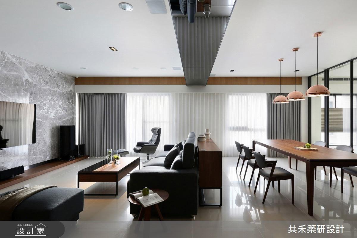 85坪新成屋(5年以下)_簡約風客廳餐廳案例圖片_共禾築研設計有限公司_共禾築研_33之5