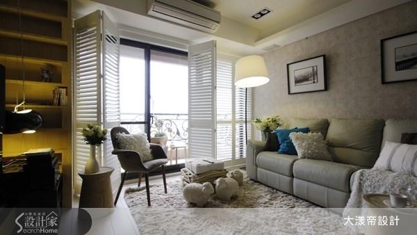 40坪新成屋(5年以下)_美式風案例圖片_大漾帝國際室內裝修有限公司_大漾帝_12之8