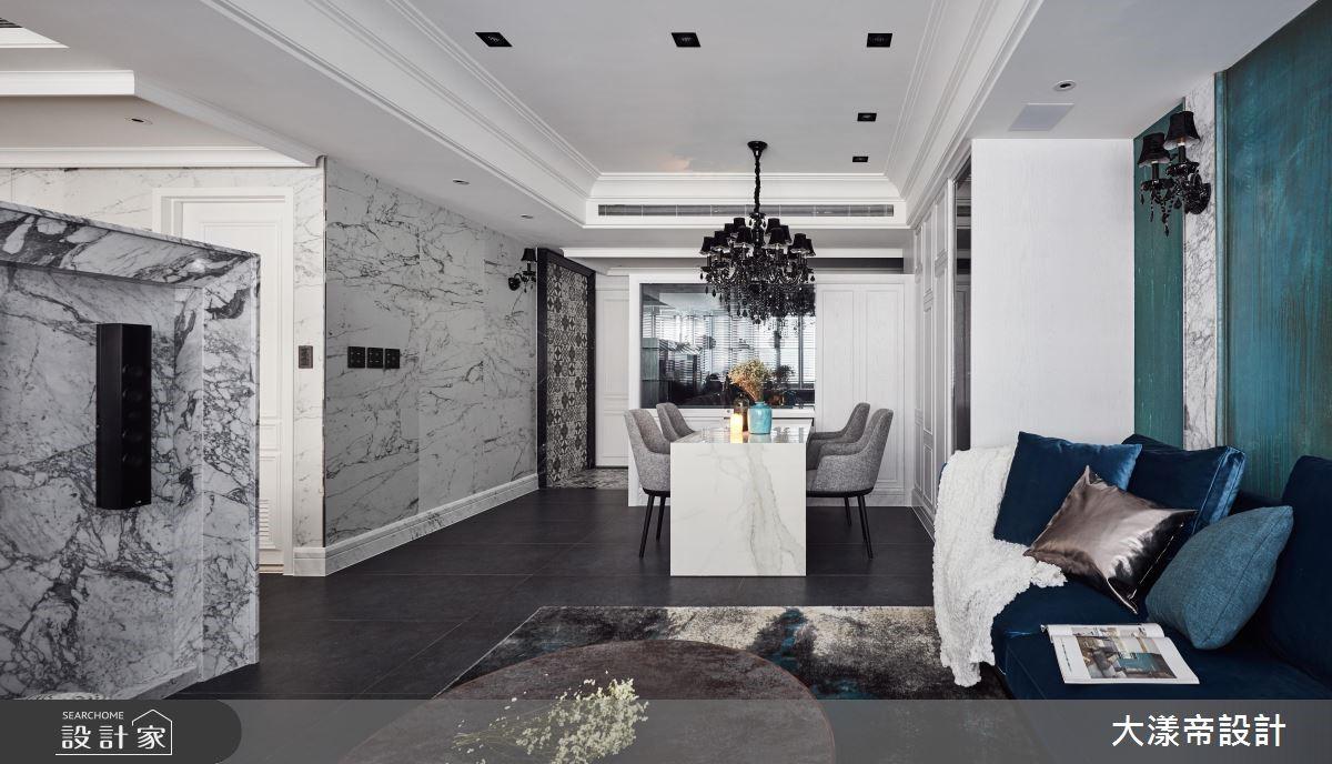 40坪新成屋(5年以下)_混搭風餐廳案例圖片_大漾帝國際室內裝修有限公司_大漾帝_18之2