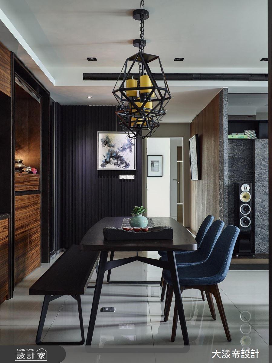 40坪新成屋(5年以下)_新中式風餐廳案例圖片_大漾帝國際室內裝修有限公司_大漾帝_20之3