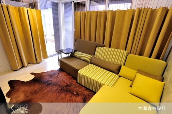 11坪新成屋(5年以下)_混搭風客廳案例圖片_大湖森林室內設計_大湖森林_15之2