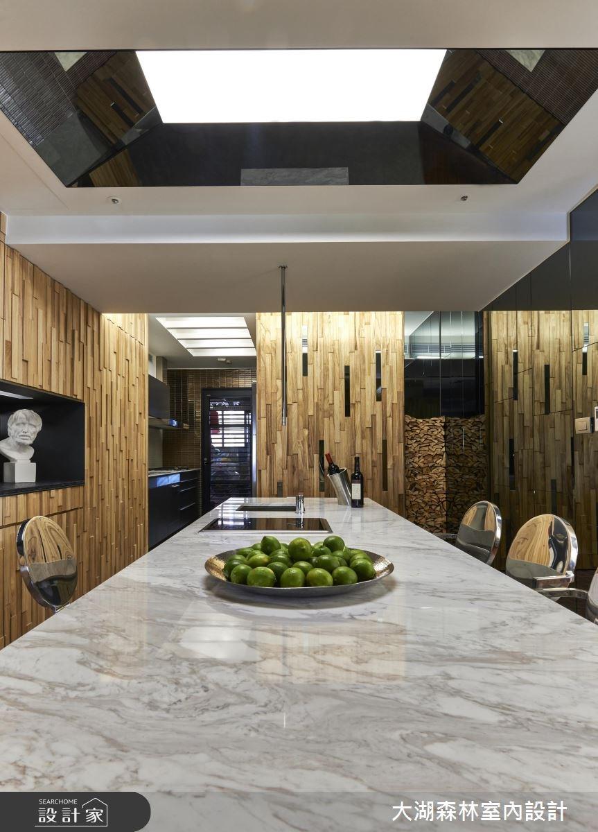 66坪新成屋(5年以下)_療癒風餐廳案例圖片_大湖森林室內設計_大湖森林_21之11