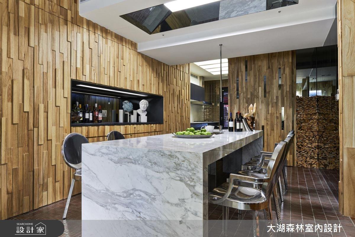66坪新成屋(5年以下)_療癒風餐廳案例圖片_大湖森林室內設計_大湖森林_21之12