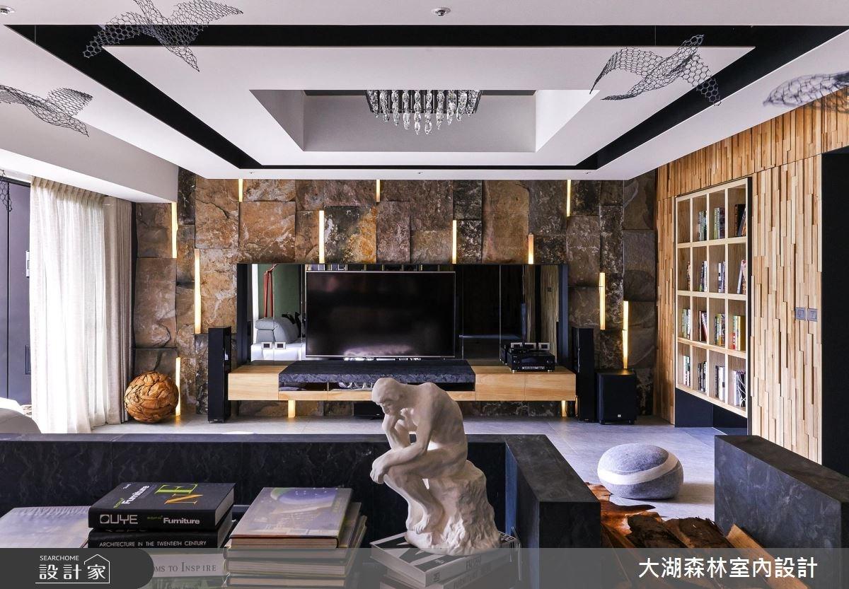 66坪新成屋(5年以下)_療癒風客廳案例圖片_大湖森林室內設計_大湖森林_21之1