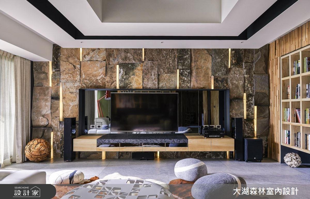 66坪新成屋(5年以下)_療癒風客廳案例圖片_大湖森林室內設計_大湖森林_21之2
