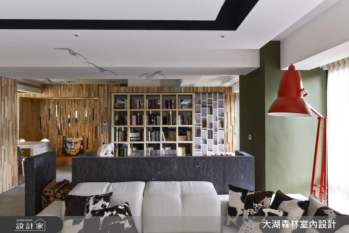 66坪新成屋(5年以下)_療癒風客廳案例圖片_大湖森林室內設計_大湖森林_21之7