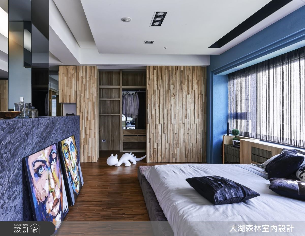 66坪新成屋(5年以下)_療癒風臥室案例圖片_大湖森林室內設計_大湖森林_21之16