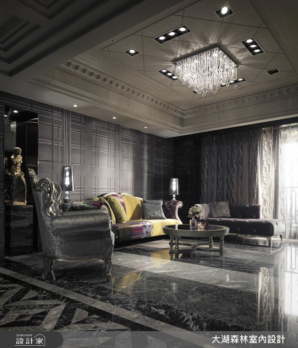 新成屋(5年以下)_新古典客廳案例圖片_大湖森林室內設計_大湖森林_23之4