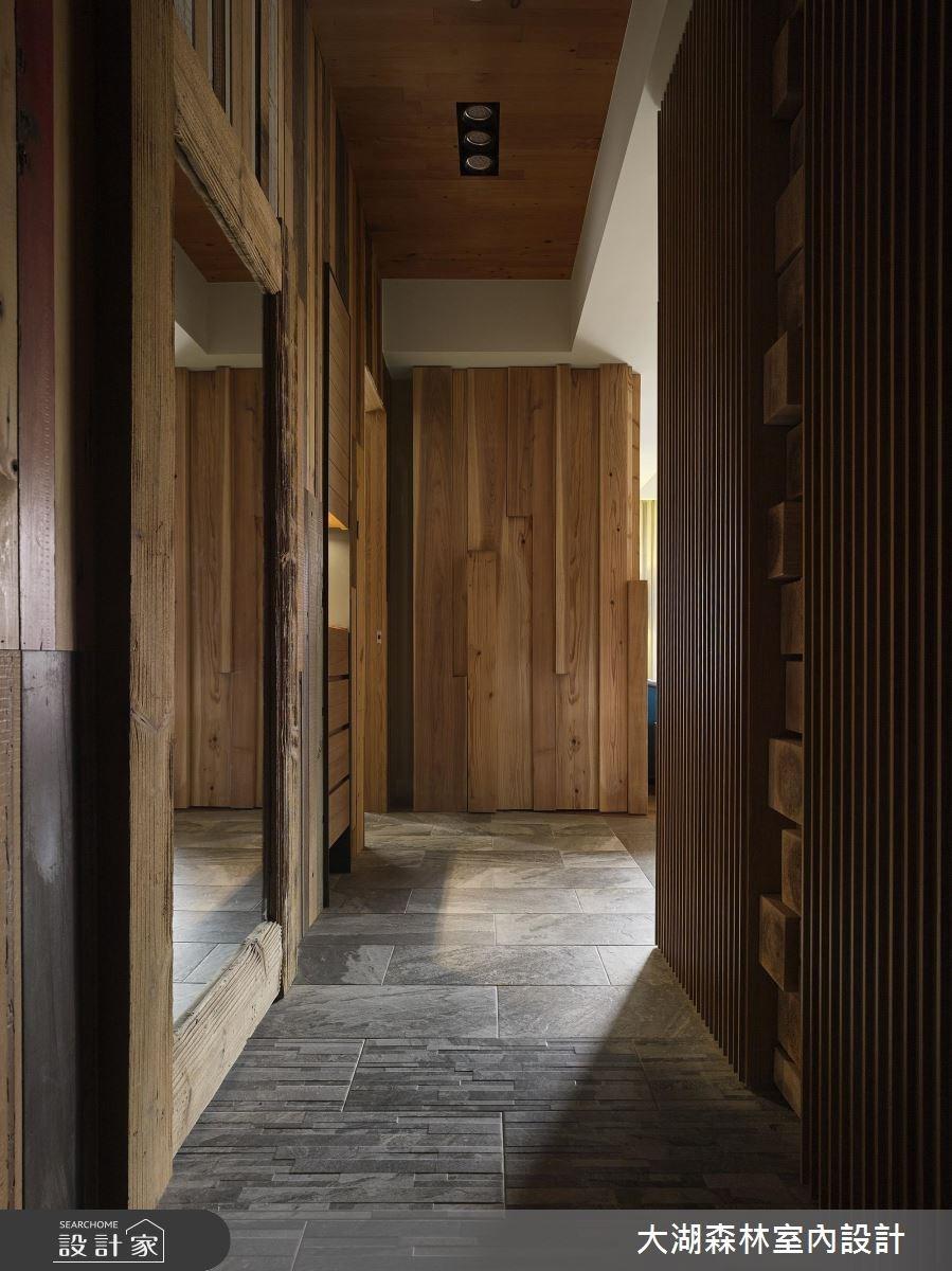 42坪新成屋(5年以下)_休閒風走廊案例圖片_大湖森林室內設計_大湖森林_27之1