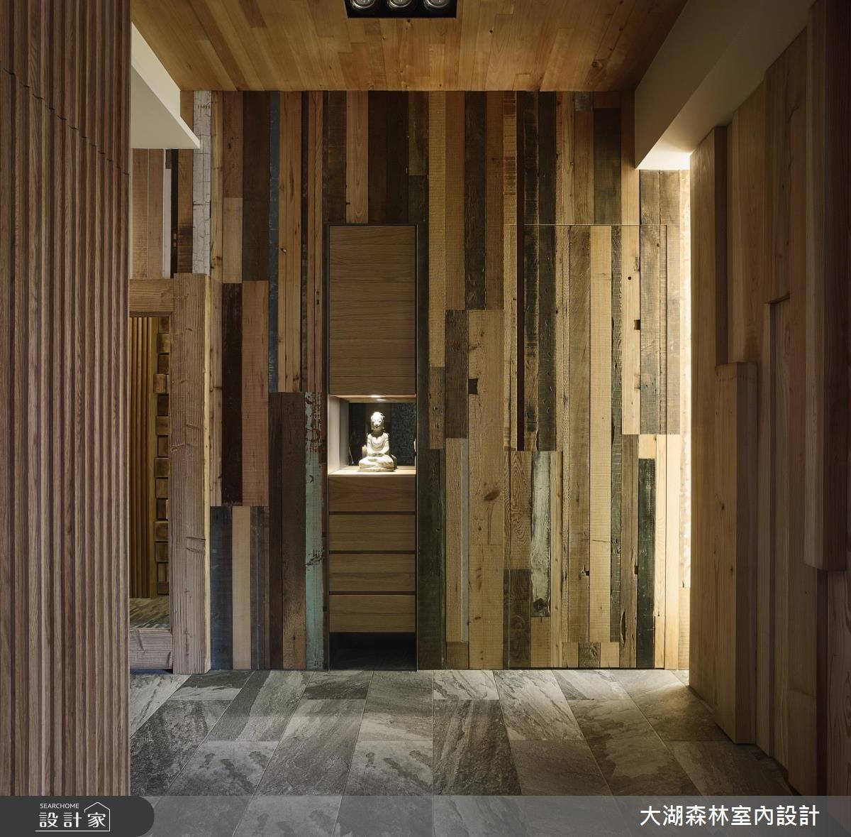 42坪新成屋(5年以下)_休閒風走廊案例圖片_大湖森林室內設計_大湖森林_27之2