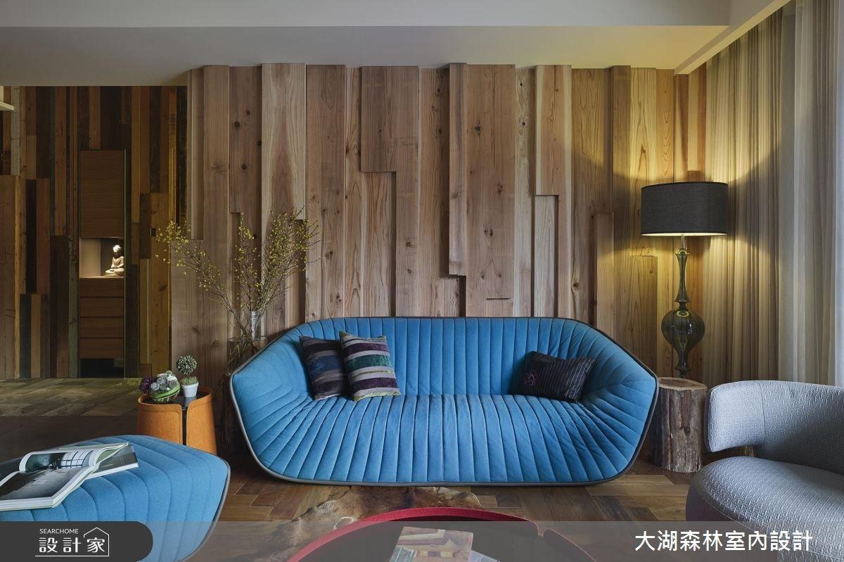42坪新成屋(5年以下)_休閒風客廳案例圖片_大湖森林室內設計_大湖森林_27之3